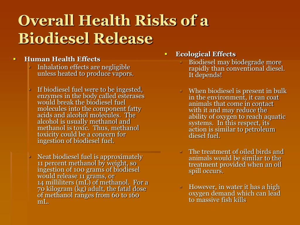 Human Health Effects