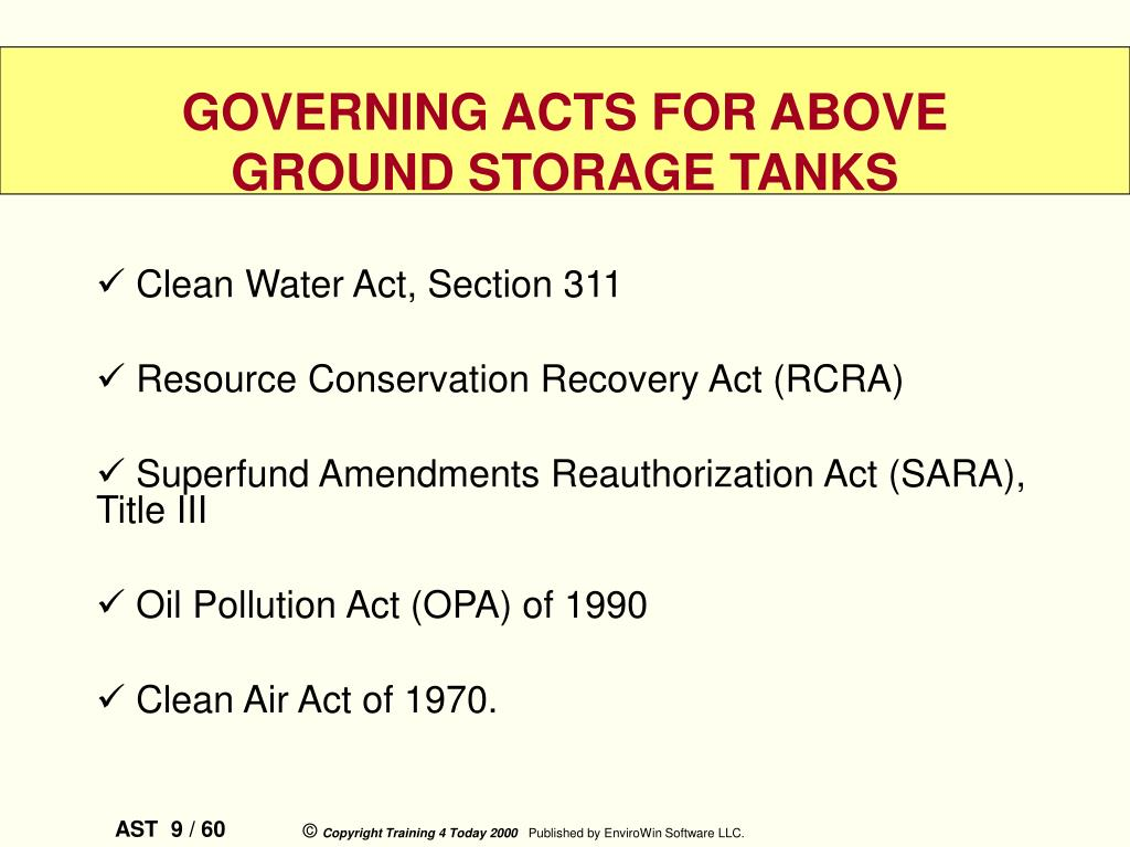 Clean Water Act, Section 311
