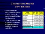 construction breadth new schedule26