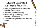 student generated multimedia projects6