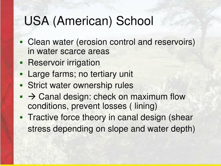 USA (American) School