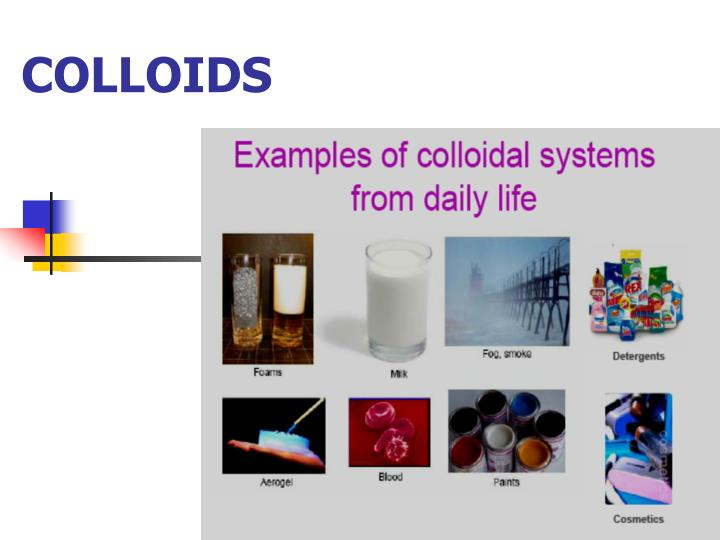 colloids Colloid definition: the definition of a colloid is a combination of molecules mixed through other substances that will not settle out or join with the other substance (noun.
