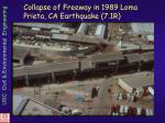collapse of freeway in 1989 loma prieta ca earthquake 7 1r