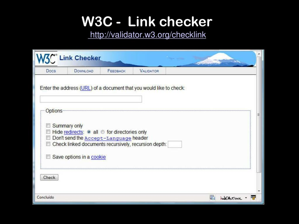 W3C -  Link