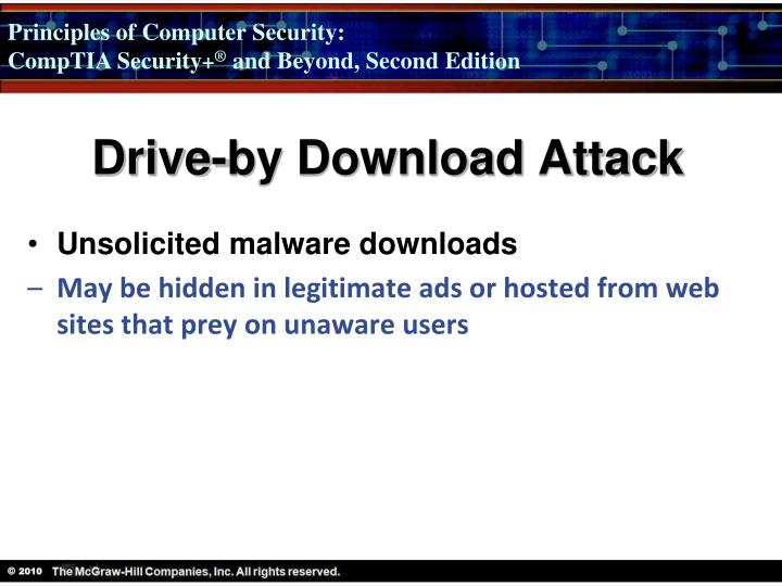Drive-by Download Attack