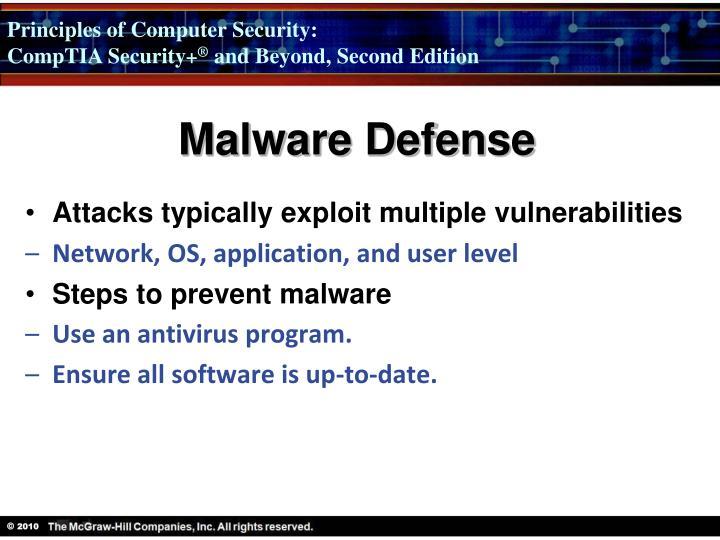 Malware Defense