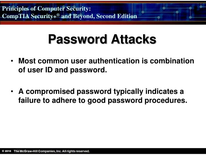 Password Attacks