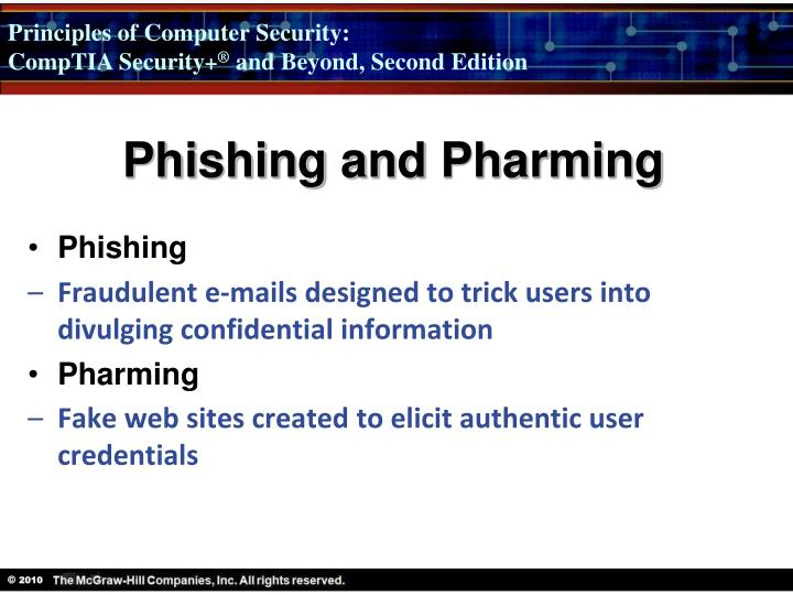 Phishing and