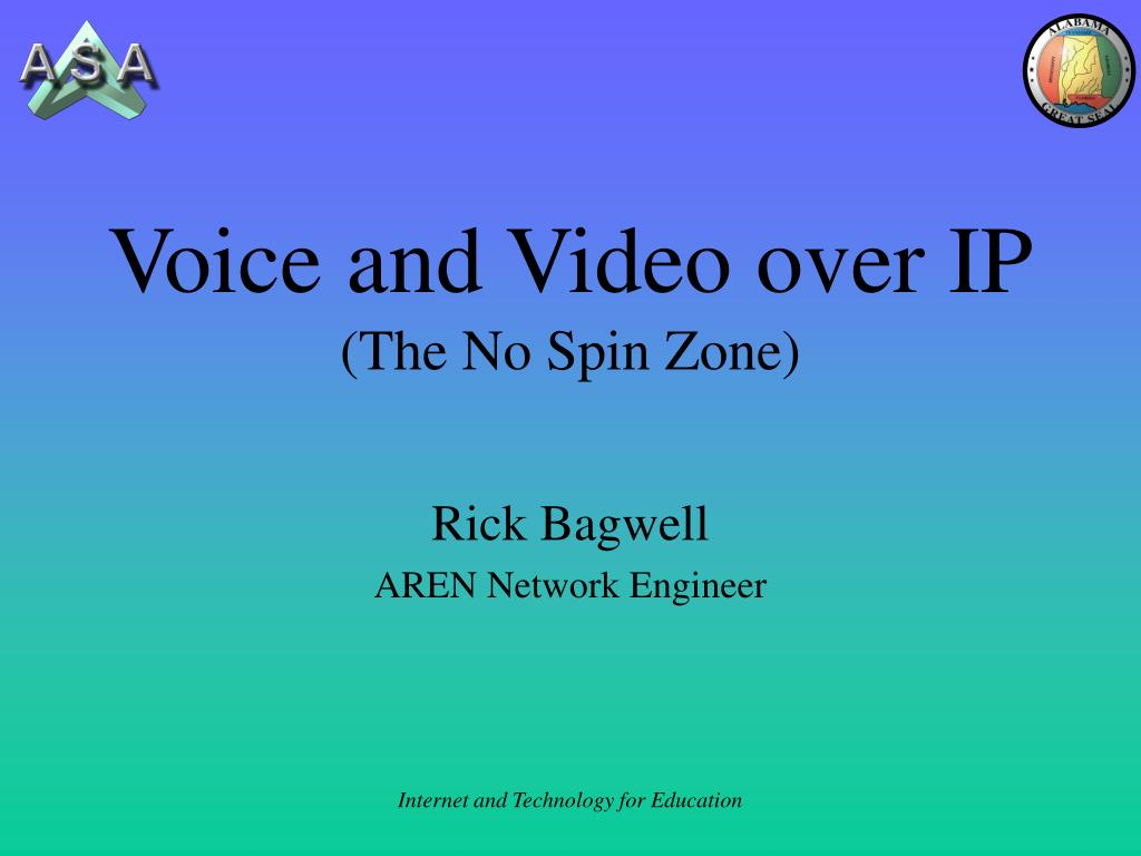 voice and video over ip the no spin zone l.
