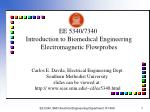 ee 5340 7340 introduction to biomedical engineering electromagnetic flowprobes