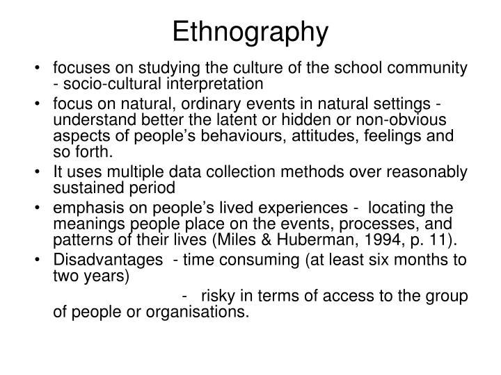 Ethnography1