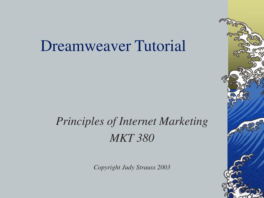 dreamweaver tutorial l.