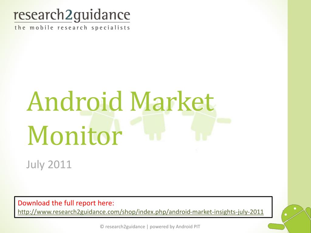 android market monitor l.
