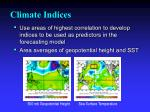 climate indices