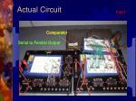 actual circuit