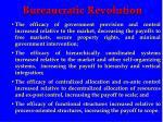 bureaucratic revolution