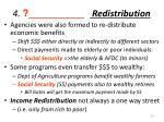 4 redistribution