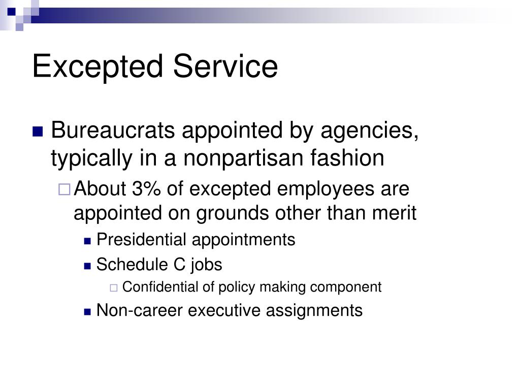 Excepted Service