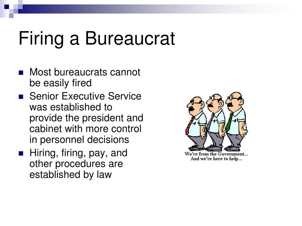 Firing a Bureaucrat