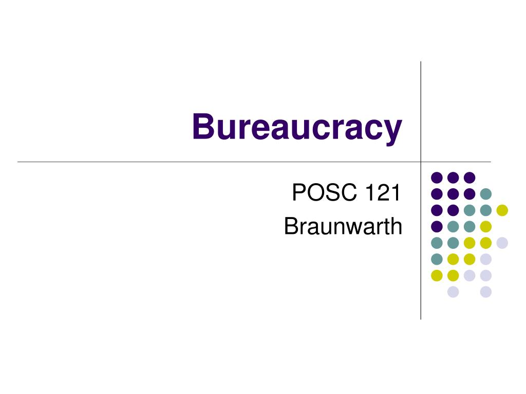 bureaucracy l.