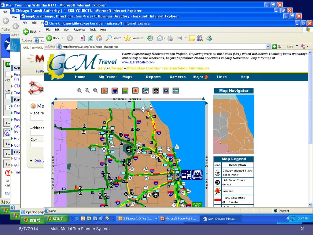 PPT - Multi-Modal Trip Planner System (MMTPS) PowerPoint