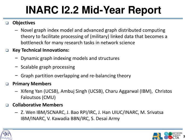 Inarc i2 2 mid year report