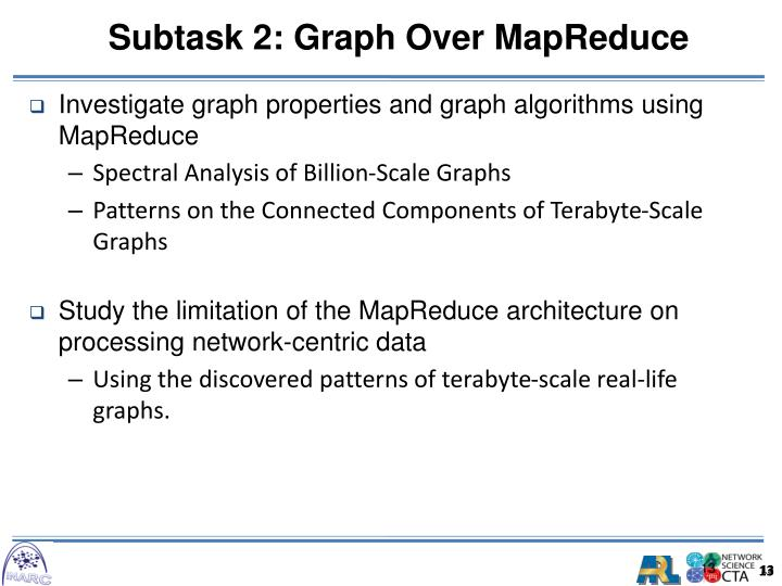 Investigate graph properties and graph algorithms using