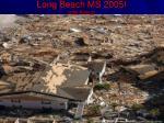 long beach ms 2005 after katrina