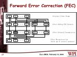 forward error correction fec