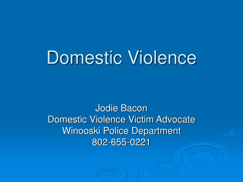 domestic violence l.