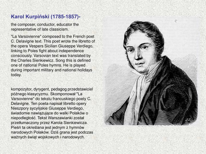 Karol Kurpiński (1785-1857)-