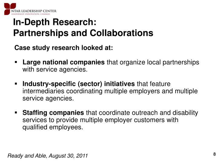 In-Depth Research: