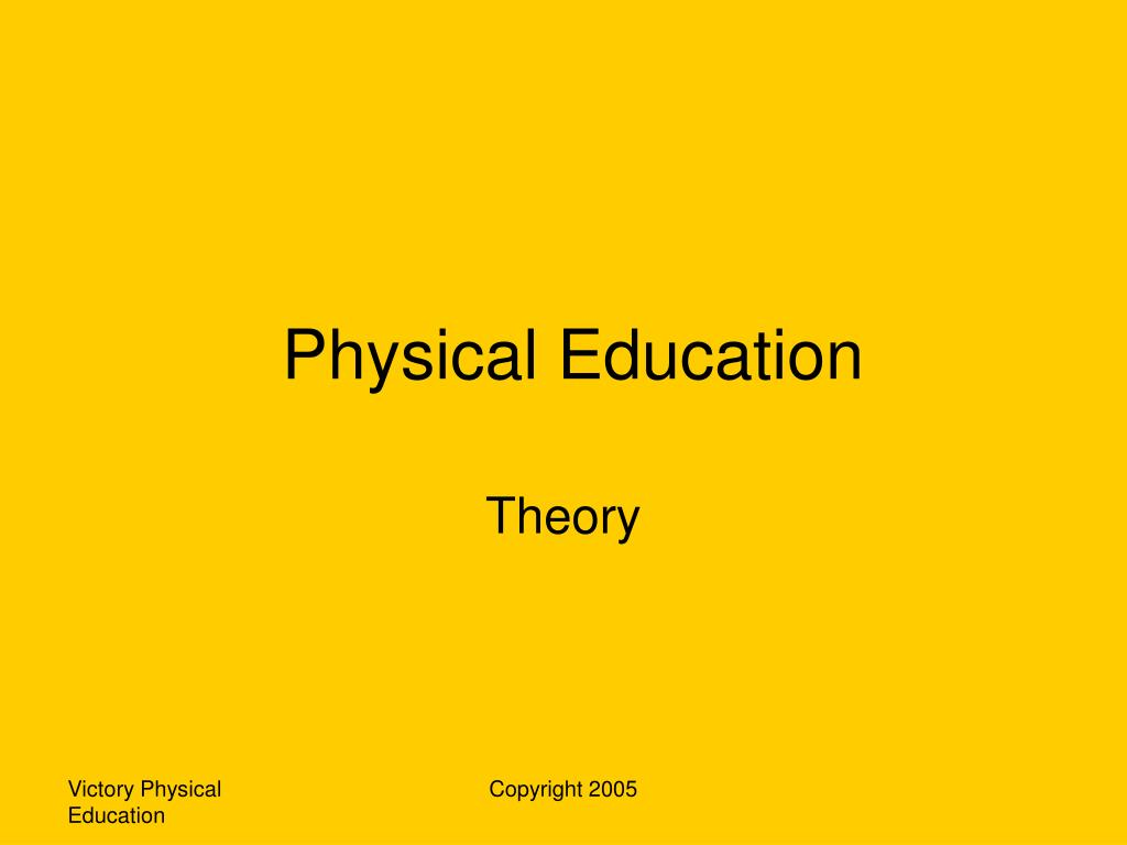 physical education l.