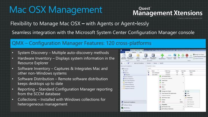 Mac OSX Management