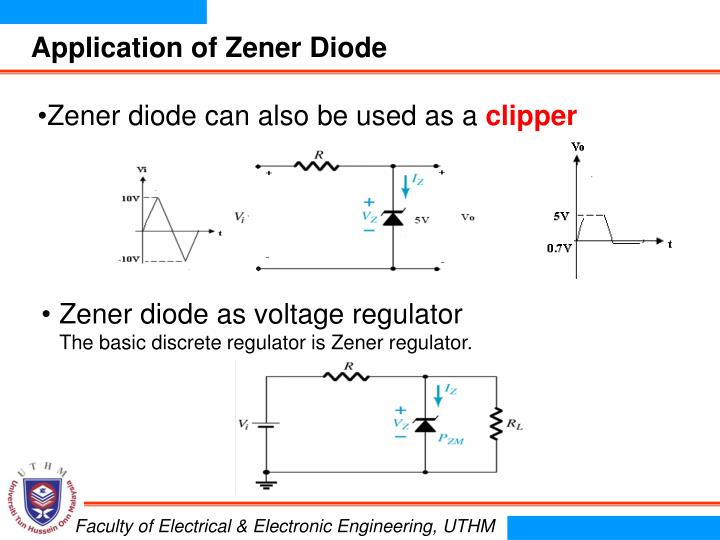 application of zener diode in hindi