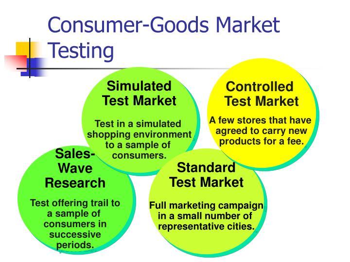 Consumer-Goods Market Testing