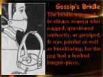 gossip s bridle