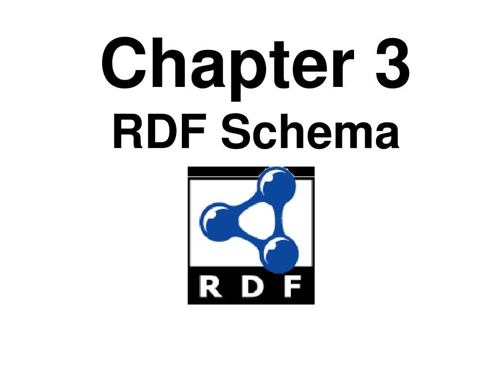 chapter 3 rdf schema l.