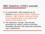 nbc dateline 1992 scandal