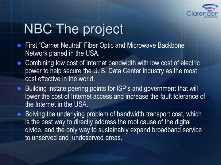 Nbc the project