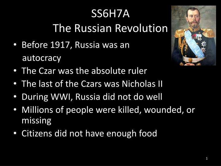 the path to the fall of autocracy in russia and the russian revolution Russia's historical path, yavlinsky says the main reasons for the fall of the autocracy are well known a century after russian revolution.