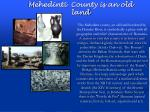 mehedinti county is an old land