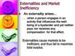 externalities and market inefficiency5