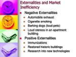 externalities and market inefficiency6