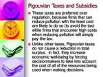 pigouvian taxes and subsidies