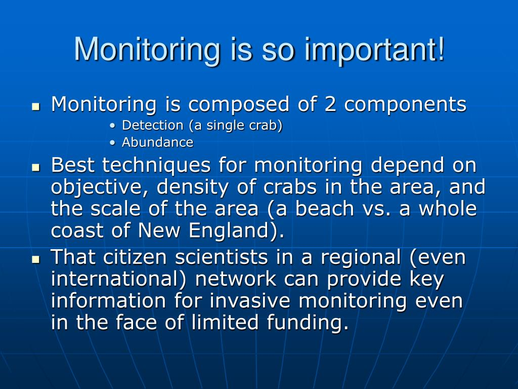 Monitoring is so important!