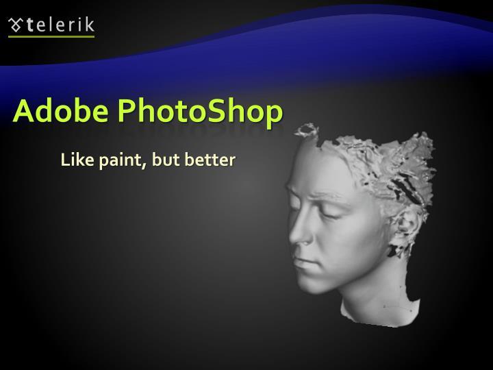 Adobe photoshop1
