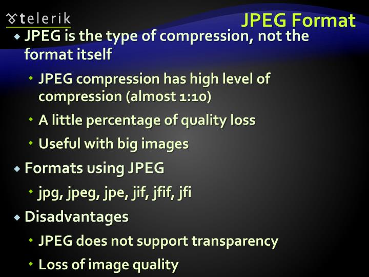 JPEG Format