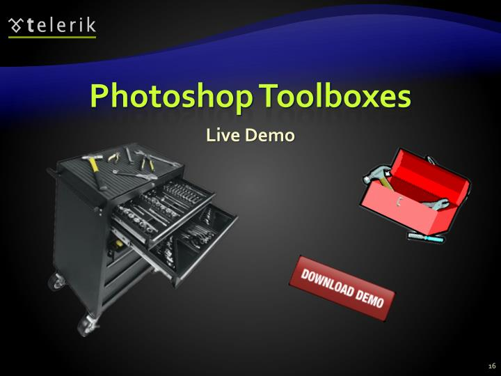 Photoshop Toolboxes