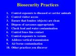 biosecurity practices